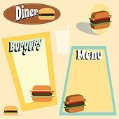 Burger menu graphics