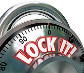 Lock It Combination Lock  Security Protection