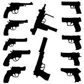 Vector guns set