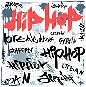 Graffiti spray tags urban art