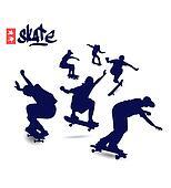 Skate Silhouettes