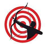Archer With Target