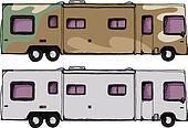 Long RV Camper