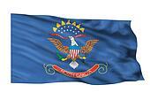 North Dakota Flag.