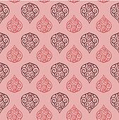 Seamless Floral Pattern 03