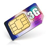 SIM card for 3G enabled operator