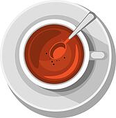 Morning Tea Clip Art - Royalty Free - GoGraph