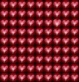 Heart Pattern Odd One Out