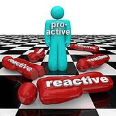 Proactive Person Wins Vs Reactive Inactivity People Lose