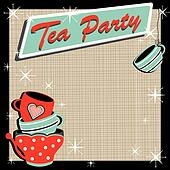 Stacked tea cups Tea Party