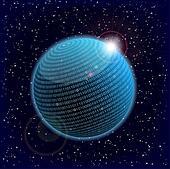 binary data sphere