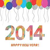 Happy new year 2014 card7