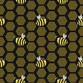Seamless bee hive