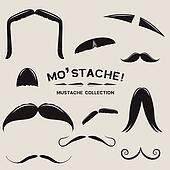 Mustachio! Vector Mustache Set