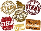Steak stamps