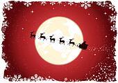 Grunge Santa's Sleigh