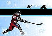 ice hockey background 2
