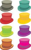 A set of hats