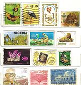 old african stamps