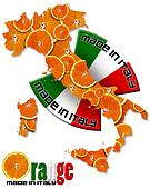 Orange made in Italy