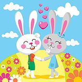Lovely Bunny Date