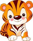 Fun zoo. Tiger