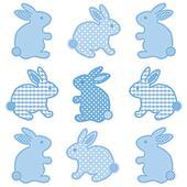 Baby Bunnies, Gingham, Polka Dots