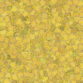 Yellow Paint Blotch Background