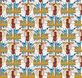 Ace of swords pattern