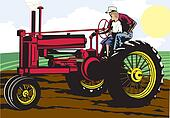Father and Son Farming