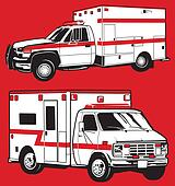 Ambulance Clip Art - Royalty Free - GoGraph