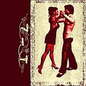 Ballroom Dance Flyer/Background
