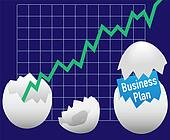 Business startup plan hatch egg growth