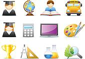 Education / School Icons Set