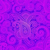 Purple damask patterns background
