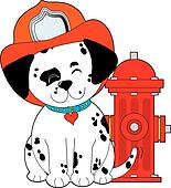 Dalmation Fire Dog
