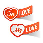 In love, my love labels