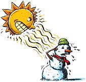 Sun vs Snowman