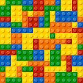 Plastic construction blocks