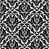 Retro flourish seamless pattern