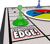 Competitive Edge Board Game Winning Advantage Success