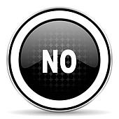 no icon, black chrome button