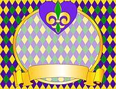 Mardi Gras background design