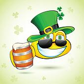 Saint Patrick Smiley