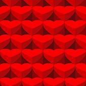 Seamless valentine background.