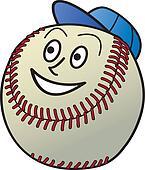 Cartoon Baseball
