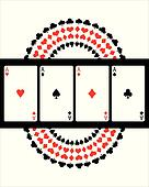 special poker background