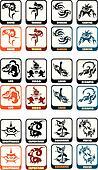 zodiac sign vector set