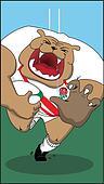 English Rugby Bulldog