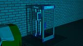 US (American) Phone Booth Neo